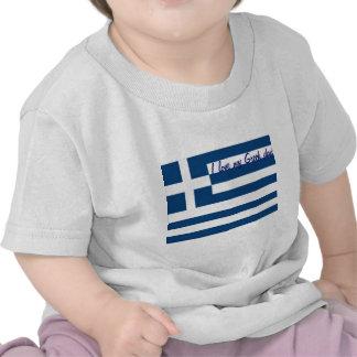 I love my greek dad baby t-shirts