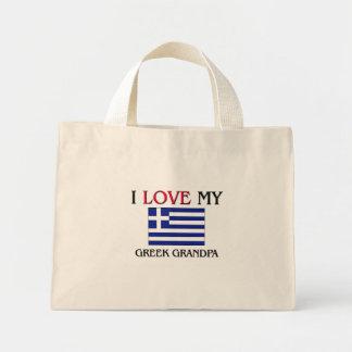 I Love My Greek Grandpa Canvas Bag