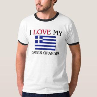 I Love My Greek Grandpa Shirt