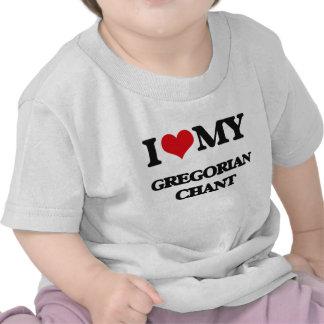 I Love My GREGORIAN CHANT Tee Shirt