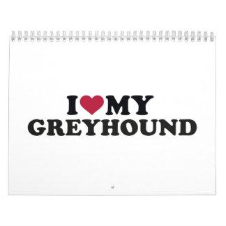 I love my Greyhound Calendar