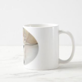 """I Love my Greyhound"" Dog Art Pastel Classic White Coffee Mug"