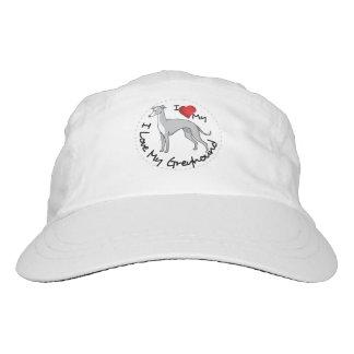 I Love My Greyhound Dog Headsweats Hat
