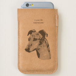 iPhone 7 and iPhone 6/6s Case with Greyhound Phone Cases design