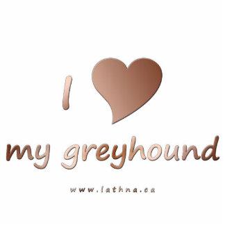 I love my greyhound magnet