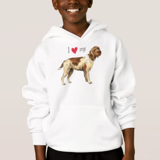 I Love my Griffon Hoodie