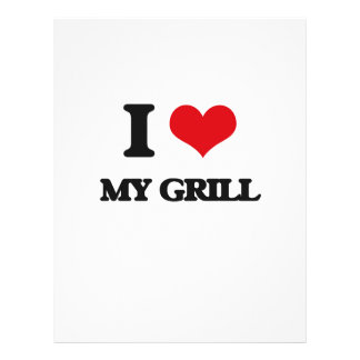 I Love My Grill Flyer