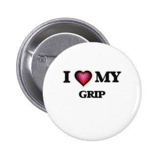 I love my Grip Pinback Button