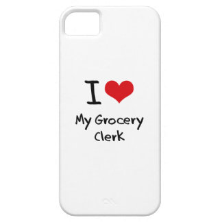 I Love My Grocery Clerk iPhone 5 Cover