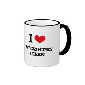 I Love My Grocery Clerk Coffee Mug