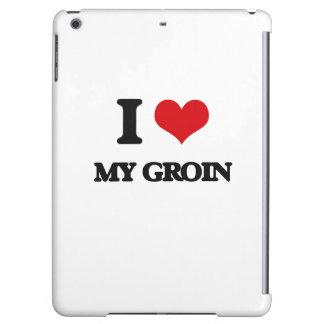 I Love My Groin iPad Air Cases