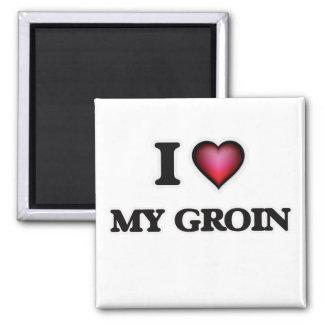I Love My Groin Magnet