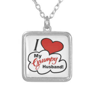 I Love My Grumpy Husband Necklace