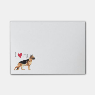 I Love my GSD Post-it Notes