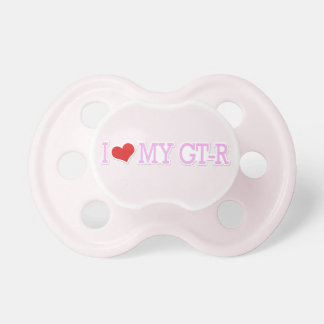 I Love My GTR Pink Pacis Pacifier