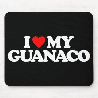 I LOVE MY GUANACO MOUSEPADS