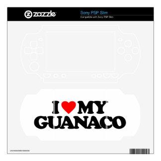 I LOVE MY GUANACO SKINS FOR THE PSP SLIM