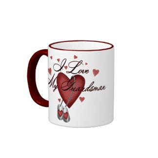 I Love My Guardsman Coffee Mug