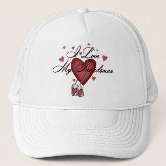 I Love My Guardsman Trucker Hat
