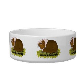 I Love My Guinea Pig Bowl