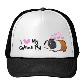 I Love My Guinea Pig / Cavy (smooth hair) Trucker Hat
