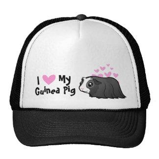 I Love My Guinea Pig (long hair) Trucker Hat