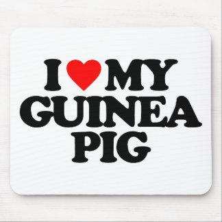 I LOVE MY GUINEA PIG MOUSEPAD