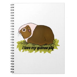 I Love My Guinea Pig Notebook