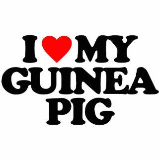 I LOVE MY GUINEA PIG PHOTO SCULPTURE