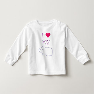 I love my Guinea Pig Toddler T-shirt