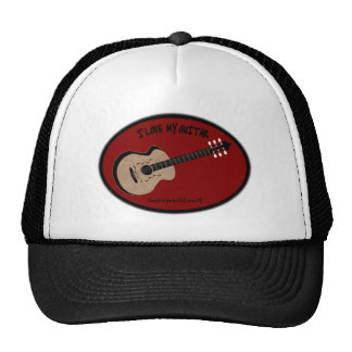 I LOVE MY GUITAR - LOVE TO BE ME TRUCKER HAT