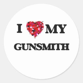 I love my Gunsmith Classic Round Sticker