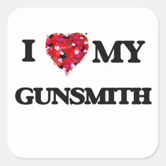 I love my Gunsmith Square Sticker