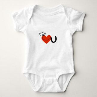 I Love My Guy - I Love My Girl Baby Bodysuit