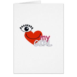 I Love My Guy - I Love My Girl Cards