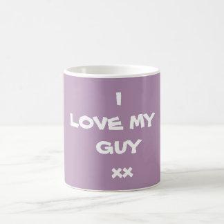 I LOVE MY GUY xx -Coffee Mug - by Artist RjFxx