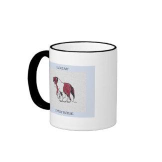 I love my gypsy horse mug
