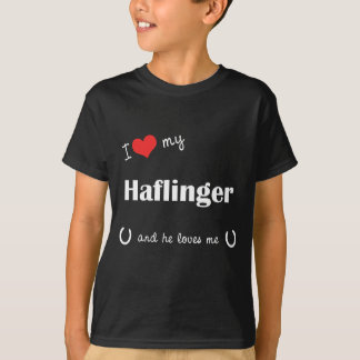 I Love My Haflinger (Male Horse) T-Shirt