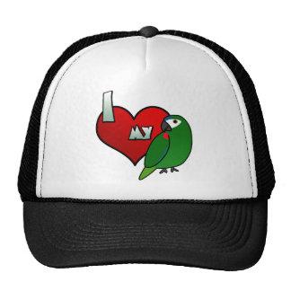 I Love my Hahn's Macaw Trucker Hat