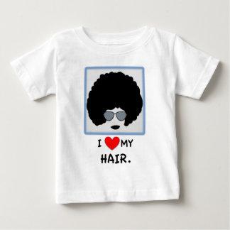 I love my Hair - Afro Baby T-Shirt