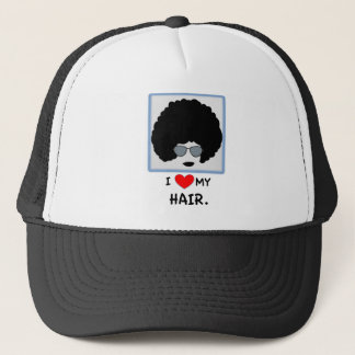 I love my Hair - Afro Trucker Hat