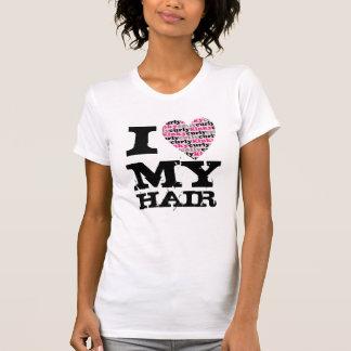 I Love MY Hair -kinkycurlyheart Tees