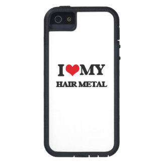 I Love My HAIR METAL iPhone 5 Cover