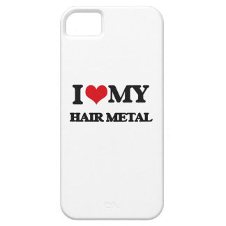 I Love My HAIR METAL Cover For iPhone 5/5S