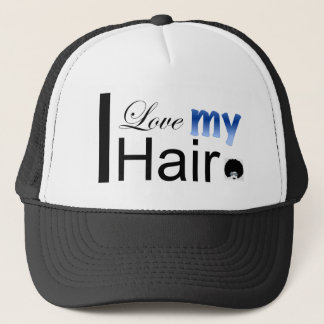 I Love my Hair Trucker Hat