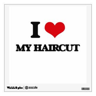 I Love My Haircut Room Sticker