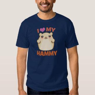 I Love My Hammy Tee Shirt