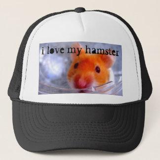 i love my hamster hat
