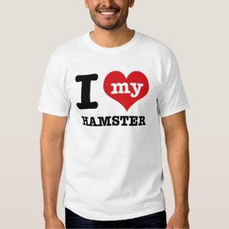 I love my Hamster Shirt