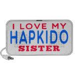 I Love My Hapkido Sister Travelling Speaker